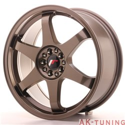Japan Racing JR3 18x8 ET40 5x112/114 Bronze | JR31880ML4074BZ