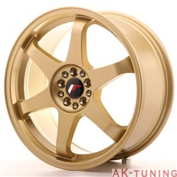Japan Racing JR3 18x8 ET40 5x112/114 Gold | JR31880ML4074GD