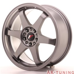 Japan Racing JR3 18x8 ET40 5x112/114 Gun Metal | JR31880ML4074GM