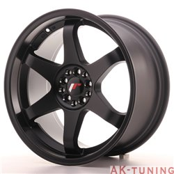 Japan Racing JR3 18x9 ET40 4x100/114 Matt Black