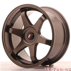 Japan Racing JR3 18x9 ET35-40 Blank Bronze