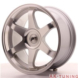 Japan Racing JR3 18x9 ET35-40 Blank Silver Machine
