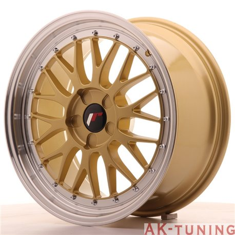 Japan Racing JR23 18x8.5 ET40-45 5H Blank Gold | JR2318855X4074GD
