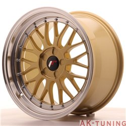 Japan Racing JR23 18x9.5 ET25-42 5H Blank Gold