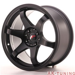 Japan Racing JR3 17x9 ET20 4x100/114 Matt Black | JR3179042073BF