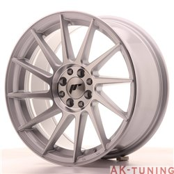 Japan Racing JR22 17x8 ET35 4x100/114 Silver Mach | JR22178043573SM