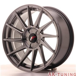 Japan Racing JR22 17x8 ET35 5H Blank Hiper Black | JR2217805X3574HB
