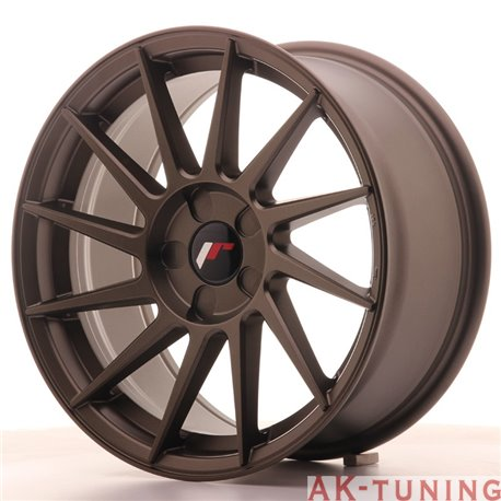 Japan Racing JR22 17x8 ET35 5H Blank Matt Bronze | JR2217805X3574MBZ