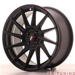 Japan Racing JR22 17x8 ET25 4x100/108 Matt Black | JR22178142573BF