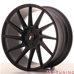 Japan Racing JR22 18x8.5 ET40 5H Blank Matt Black