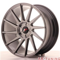Japan Racing JR22 18x8.5 ET40 5H Blank Hiper Black | JR2218855X4074HB