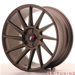 Japan Racing JR22 18x8.5 ET40 5H Blank Matt Bronze | JR2218855X4074MBZ