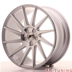 Japan Racing JR22 18x8.5 ET40 5H Blank Silver Mach