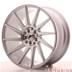 Japan Racing JR22 18x8.5 ET40 5x112/114 Silver Mac | JR221885ML4074SM