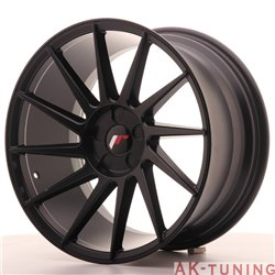 Japan Racing JR22 18x9.5 ET40 5H Blank Matt Bla | JR2218955X4074BF
