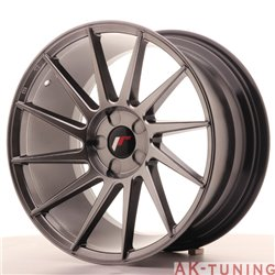 Japan Racing JR22 18x9.5 ET40 5H Blank Hiper Bl