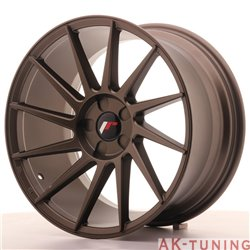 Japan Racing JR22 18x9.5 ET40 5H Blank Matt Bronze | JR2218955X4074MBZ