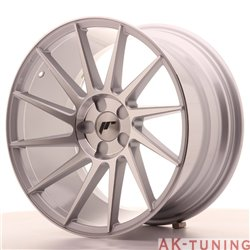 Japan Racing JR22 18x9.5 ET40 5H Blank Silver Mach | JR2218955X4074SM