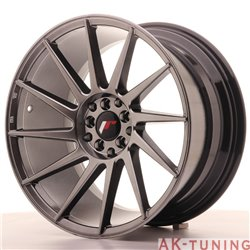 Japan Racing JR22 18x9.5 ET40 5x112/114 Hiper Blac | JR221895ML4074HB