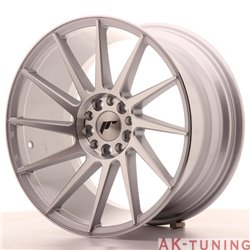 Japan Racing JR22 18x9.5 ET40 5x112/114 Silver Mac | JR221895ML4074SM