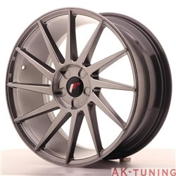 Japan Racing JR22 19x8.5 ET35-40 5H Blank Hiper Bl | JR2219855X3574HB