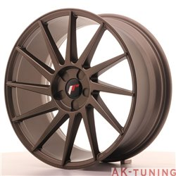 Japan Racing JR22 19x8.5 ET35-40 5H Blank Bronze | JR2219855X3574MBZ