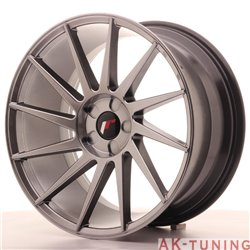 Japan Racing JR22 19x9.5 ET35-40 5H Blank Hiper Bl | JR2219955X3574HB