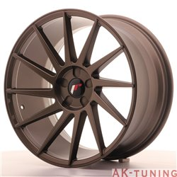 Japan Racing JR22 19x9.5 ET35-40 5H Blank Matt Bro | JR2219955X3574MBZ