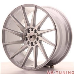 Japan Racing JR22 19x9.5 ET40 5x112/114 Silver Mac | JR221995ML4074SM