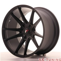 Japan Racing JR21 19x11 ET15-30 5H Blank Matt Bla