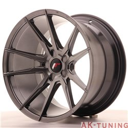Japan Racing JR21 19x11 ET15-30 5H Blank Hiper Bla