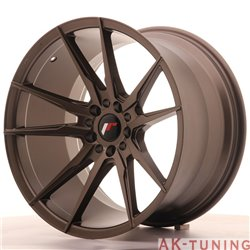 Japan Racing JR21 19x11 ET25 5x114/120 Matt Bronze