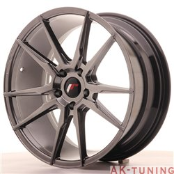 Japan Racing JR21 19x8.5 ET35 5x120 Hiper Blac | JR2119855I3572HB