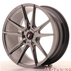 Japan Racing JR21 19x8.5 ET20-40 5H Blank Hiper Bl | JR2119855X2074HB