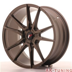 Japan Racing JR21 19x8.5 ET35-40 5H Blank Matt Bro | JR2119855X3574MBZ