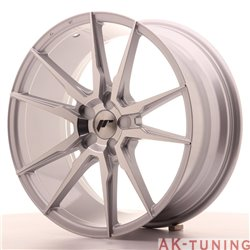 Japan Racing JR21 19x8.5 ET35-40 5H Blank Silver M | JR2119855X3574SM