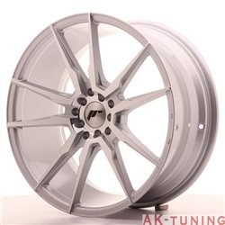 Japan Racing JR21 19x8.5 ET40 5x112/114 Silver Mac | JR211985ML4074SM