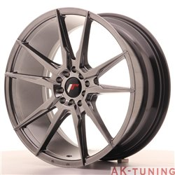 Japan Racing JR21 19x8.5 ET35 5x100/120 Hiper Blac | JR211985MZ3574HB