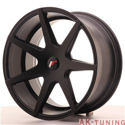 Japan Racing JR20 19x9.5 ET20-40 Blank Matt Black