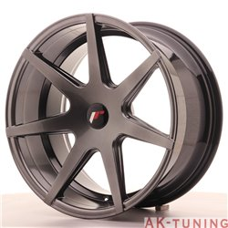 Japan Racing JR20 19x9.5 ET35-40 Blank Hiper Black