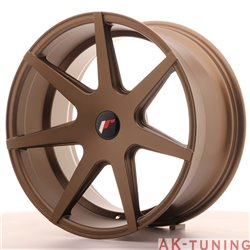 Japan Racing JR20 19x9.5 ET35-40 Blank Matt Bronze