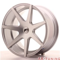 Japan Racing JR20 19x9.5 ET35-40 Blank Silver Mach