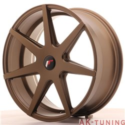 Japan Racing JR20 20x8.5 ET20-40 5H Blank Matt Br
