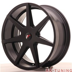 Japan Racing JR20 20x8.5 ET40 5H Blank Matt Black