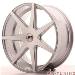 Japan Racing JR20 20x8.5 ET40 5H Blank Silver Mac