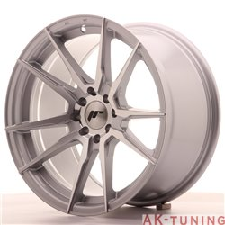 Japan Racing JR21 17x9 ET20 4x100/114 Silver Mach