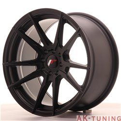 Japan Racing JR21 17x9 ET20 5x100/114 Matt Black