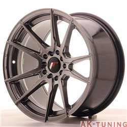 Japan Racing JR21 17x9 ET35 5x100/114 Hiper Black