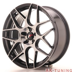 Japan Racing JR18 19x8.5 ET35-40 5H Blank Black Ma
