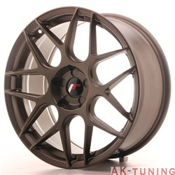 Japan Racing JR18 19x8.5 ET35-40 5H Blank Bronze